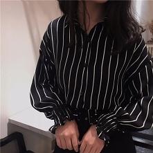 Oversize'owa koszula d...