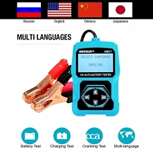 12V Automotive Vehicle Car Battery Tester 3 in 1 Multifunction Check Meter Di...