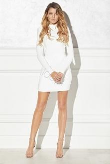 Sukienka ołówkowa biała to ...