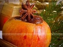 Jabłka z kremem
