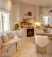przytulnie w kuchni