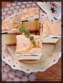 Puszysty sernik z mlekiem :)