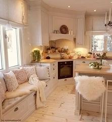 Siedzisko w kuchni