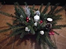 świąteczny stroik by emilia_ja
