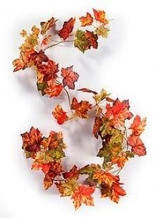 girlanda jesiene liście