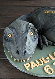 ciasto dinozaur