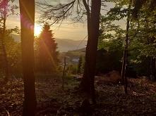 Zerkając na..... Zachód słońca... Hamaki