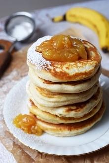 Bananowe placuszki śniadaniowe