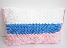 Poduszka na szydełku
