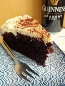 Ciasto czekoladowe na ciemnym piwie Guinness :) Niebo w gębie! <3