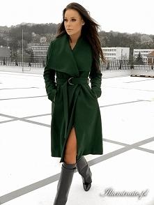 Zimowy płaszcz z kolekcji i...