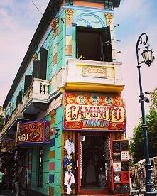 Caminito w Argentynie :) Za...