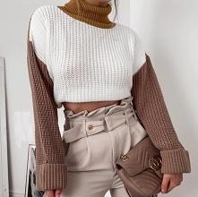 Piękny sweterek... i spodni...