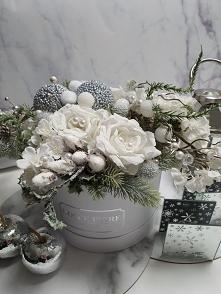 Nasz świąteczny flower box :)