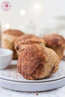 Cynamonowe muffinki z kremem czekoladowym - Najlepsze przepisy   Blog kulinar...