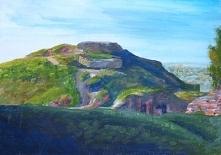 Góra Św. Marcina- akryle