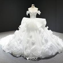 Oszałamiający Białe Suknie ...