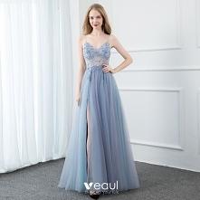 Seksowne Błękitne Sukienki ...