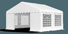Namiot wystawowy od firmy polotent sprawdzi się na targach i innego rodzaju e...
