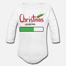 Dziecięce, świąteczne body z długim rękawkiem. Myślę, że może być fajnym uzupełnieniem świątecznego klimatu. Przy tym jest  organiczne, co się w tych czasach bardzo ceni, szczeg...