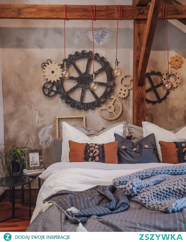 Przedstawiam Wam moją nową ścianę w sypialni