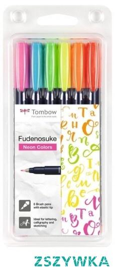 Zestaw neonowych brush penów to doskonały prezent dla dziecka, które lubi rysować. Rozwijaj jego zdolności ze sklepiem Calligrafun!