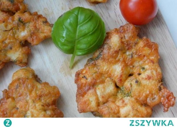 Kotlety siekane z kurczaka z serem i majonezem