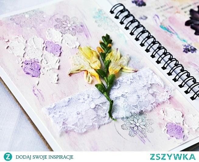 Wpis do art journala