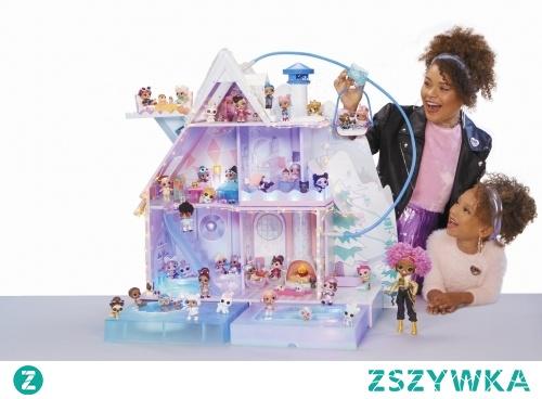 domek dla lalek LOL Winter Disco Chalet + 95 niespodzianek! w zabawkitotu