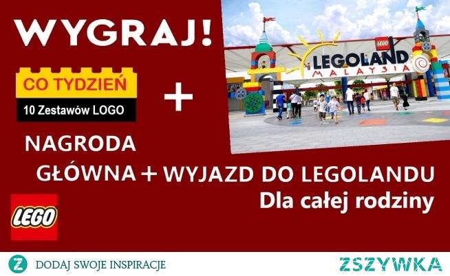 Wygraj dla swojej pociechy niepowtarzalne nagrody w postaci niesamowitych klocków LEGO! Nagrodą główną w konkursie jest wyjazd do LEGOLANDU dla całej rodziny.