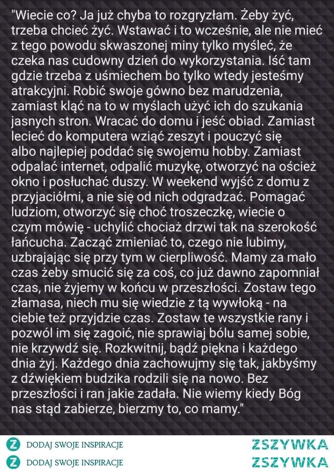 WARTO PRZECZYTAĆ :)