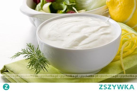 Sos jogurtowy z gorgonzolą