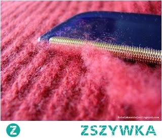 Sposoby na zmechacony sweter płaszcz