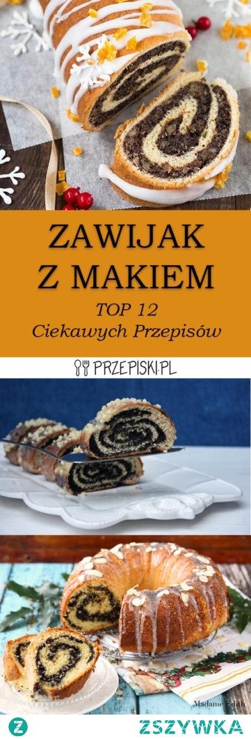 TOP 12 Przepisów na Zawijak z Makiem