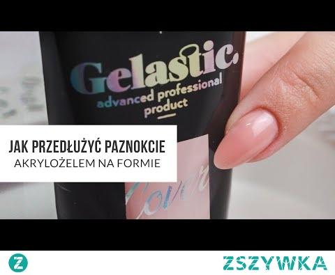 Jak przedłużyć paznokcie akrylożelem na formie? KONKURS