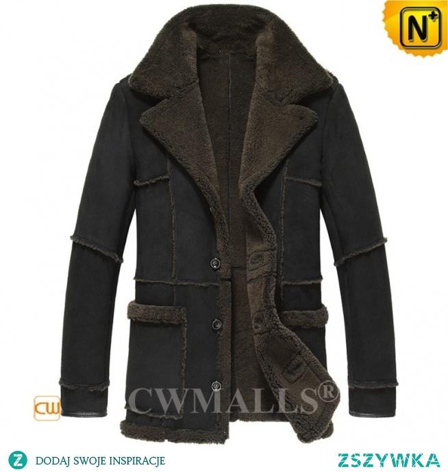 Detroit Custom Men Merino Sheepskin Coat CW818563 | CWMALLS.COM
