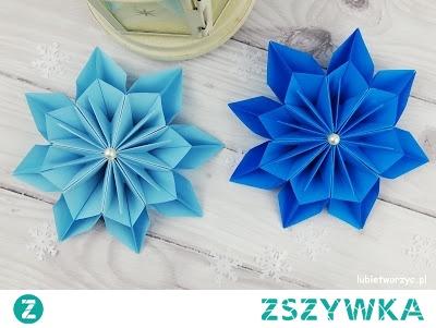 Tutorial, z którego dowiecie się, jak wykonać śliczną gwiazdę metodą origami :)
