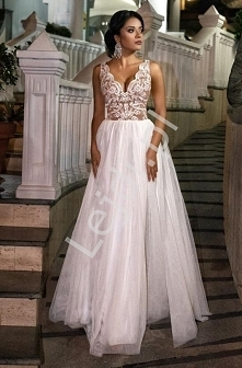 Zjawiskowa sukienka ślubna ...