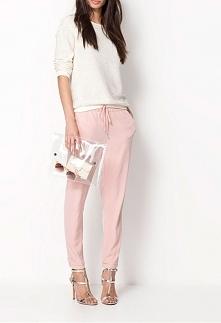 Spodnie damskie szyfonowe. ...