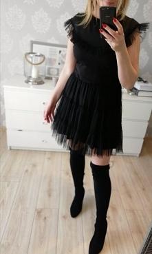 Sukienka z tiulem...Kliknij...