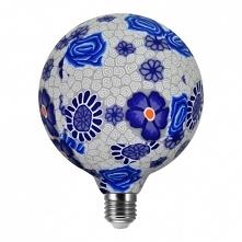 Ta żarówka dekoracyjna E27 led Folk Blue to znakomita propozycja , która ozdo...