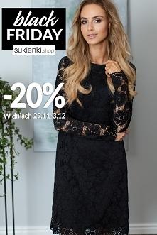 Wyjątkowe sukienki 20% tani...