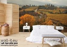 Fototapeta Toskania - jesienią. Autorski wzór nr PEZ30.