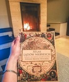 Atlas lądów niebylych. Świetna książka, pełna pięknych ilustracji . . instagr...