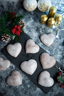 Puszyste pierniczki świąteczne