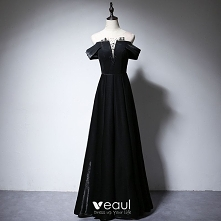 Eleganckie Czarne Sukienki ...