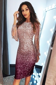 Cekinowa sukienka z fenomen...