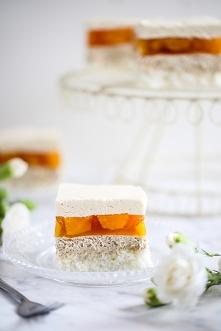 Ciasto kawowo-brzoskwiniowa...