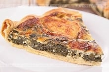 Pizza ze szpinakiem i wędzo...