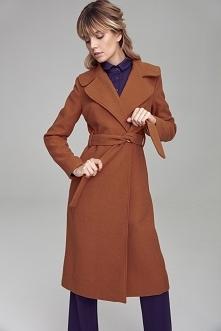 ‼️‼️Prosty, elegancki płaszcz damski w modnym kolorze‼️‼️